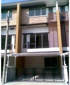 For RentTownhouseLadprao101, The Mall Bang Kapi : NA-H7016 3-storey townhome for rent, Town Plus Project, Kaset-Nawamin.