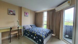 For RentCondoBangna, Lasalle, Bearing : Swift condo for rent, condo near ABAC Bangna, ready to move in, very cute price