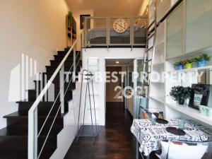 For RentCondoSukhumvit, Asoke, Thonglor : ✨ Very cheap rent, Ideo Morph 38 Duplex room, very beautiful decorated room, rent only 18,000 baht / month