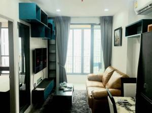 For RentCondoOnnut, Udomsuk : Urgent for rent!!️ Ideo Mobi Sukhumvit 81 (Ideo Mobi Sukhumvit 81, only 16,000 baht, fully furnished, ready to move in)