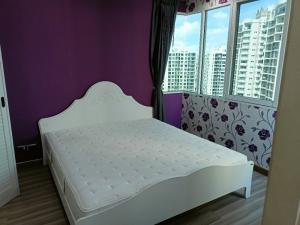 For RentCondoRatchadapisek, Huaikwang, Suttisan : This price is set!! Supalai Wellington, 1 room, 2 bedrooms, high floor, corner room, 3 views, no better price!!