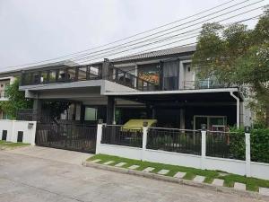 ขายบ้านนวมินทร์ รามอินทรา : 79001,ขายบ้านเดี่ยว 2 ชั้น เนื้อที่ 63 ตร.วา เดอะ เซนโทร วัชรพล Centro Watcharapol แขวงออเงิน เขตสายไหม