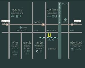 เช่าคอนโดพัฒนาการ ศรีนครินทร์ : ยู ดีไลท์ เรสซิเดนซ์ พัฒนาการ – ทองหล่อ ราคา 12,000บาท/เดือน   ✅----ห้องว่าง Line ID : @lovebkk (มี @ ด้วย) 📌