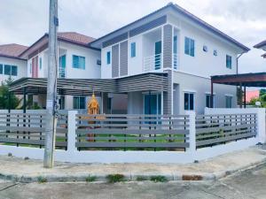 ขายบ้านเชียงใหม่ : ขายบ้านเดี่ยว 2 ชั้น สันกำแพงสายใหม่-วงแหวนรอบ 3 สารภี เชียงใหม่
