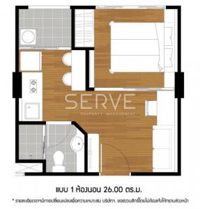 For SaleCondoPattanakan, Srinakarin : Lumpini Ville Phatthanakan - New Phetchaburi for SALE // 1 Bd. Unit Condo in Phatthanakan for Sale (As is)