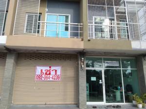 For RentShophouseSaraburi : Commercial building for rent, good location, Kaeng Khoi.