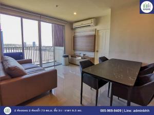 For SaleCondoRattanathibet, Sanambinna : 🏢 Brand new 2-bedroom unit with superb river view