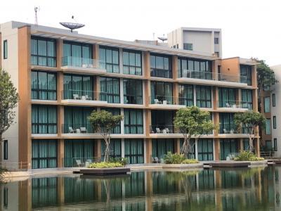 For SaleCondoKorat KhaoYai Pak Chong : Condo in the midst of nature, Swan Lake, Khao Yai.