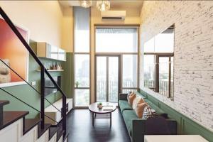 For RentCondoSukhumvit, Asoke, Thonglor : For rent Ashton Morph 38 ,36sqm floor . near BTS Thonglor can pet