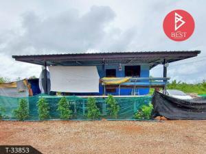 For SaleLandSamut Songkhram : House for sale with land 50.0 square wa, Nang Takhian, Samut Songkhram.