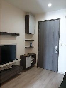 For RentCondoRatchadapisek, Huaikwang, Suttisan : [For Rent] Centric Huai Khwang, fully furnished, 27 sq m., lowest price reduced to 10000 baht/month, next to MRT Huai Khwang.