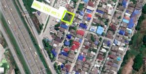 ขายที่ดินลาดกระบัง สุวรรณภูมิ : ขายที่ดินถมแล้ว ถนนในซอยเทคอนกรีต เลียบมอเตอร์เวย์สาย 7 กรุงเทพ ชลบุรี