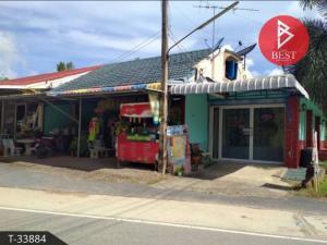 For SaleTownhousePattaya, Bangsaen, Chonburi : Single storey townhouse for sale with business in Sattahip, Chonburi.