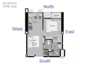 For SaleCondoOnnut, Udomsuk : 1 bedroom for sale, special price 4.3 million