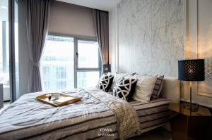 For RentCondoNana, North Nana,Sukhumvit13, Soi Nana : Condo for rent Hyde Sukhumvit 11 BA21_07_082_02 beautiful room decorated with electrical appliances fully furnished Ready to move in, price 18,999 baht