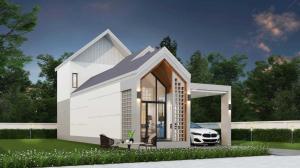 ขายบ้านเชียงใหม่ : บ้านโซนเเสนตอ หางดง น้ำแพร่