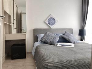 For RentCondoOnnut, Udomsuk : Serio Sukhumvit 50, 1 Bedroom 1 Bathroom 31 sq.m. 2nd Floor Condo for Rent 16,000 THB/month Near BTS On Nut
