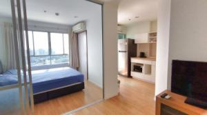 For RentCondoPattaya, Bangsaen, Chonburi : Condo for rent, Top floor, sea view, LUMPINI VILLE, Naklua-Wong Amat, 26 sqm., surrounded by amenities