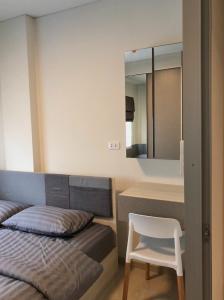 For RentCondoRamkhamhaeng Nida, Seri Thai : New and big room plus cute price The Niche Id Serithai 30 sq.m., price only 8,300/month