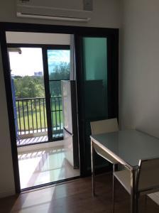 For SaleCondoNakhon Pathom, Phutthamonthon, Salaya : VI Icon Do Salaya 27 sq m. 1 bedroom, 1 bathroom, 1 living room, 5th floor, view next to the golf course – near Mahidol University