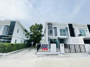 For SaleTownhouseRama5, Ratchapruek, Bangkruai : ‼️ Townhouse for sale, corner plot, Pruksa Prime, Ratchaphruek-Rattanathibet, MRT Bang Rak Yai, very cheap price ‼