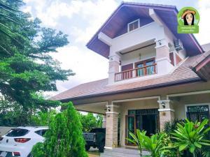 ขายบ้านศรีสะเกษ : บ้านเดี่ยวหรูสุดสวยสไตล์โมเดิร์น บนเนื้อที่กว้างกว่า 1ไร่