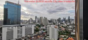 Sale DownCondoSukhumvit, Asoke, Thonglor : (Owner) Cheapest!!!!! OKA HAUS 2bed 2bath 49.72 sqm. City View 20th floor best price