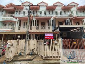 For SaleTownhouseVipawadee, Don Mueang, Lak Si : ทาวน์เฮ้าส์ 3 ชั้น 17.6 ตร.วา ม.ริมสวน ดอนเมือง