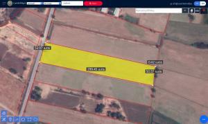 For SaleLandSuphan Buri : ขายที่ดินสุพรรณบุรี อ.สามชุก ต.บ้านสระ  ขนาด 9 ไร่ 3 งาน 64 ตารางวา