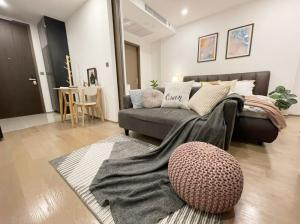 For SaleCondoSiam Paragon ,Chulalongkorn,Samyan : W0567 For sale, Ashton Chula-Silom, 1 bedroom 1 bathroom, Room size 34.65 sqm, 28th floor, Corner room, City view, Scandinavian style room decoration, Fully furnished