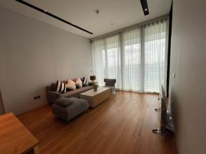 For RentCondoWongwianyai, Charoennakor : For rent, Banyan Tree Residence, 1 bedroom, 1 bathroom, high floor, river view, near Icon Siam, BTS Khlong San [6407-3021054]