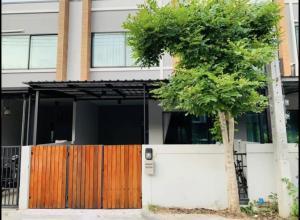 เช่าทาวน์เฮ้าส์/ทาวน์โฮมบางใหญ่ บางบัวทอง ไทรน้อย : 🎉ให้เช่าทาวน์โฮม 2 ชั้น หมู่บ้าน S Gate (แจ้งวัฒนะ-กาญจนาภิเษก) ถนนหน้าบ้านกว้างขวางไม่อึดอัด 🎉