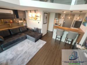 For SaleCondoVipawadee, Don Mueang, Lak Si : Duplex Suite 60 sq.m., 14th floor, Knightbridge, Phaholyothin-Interchange.