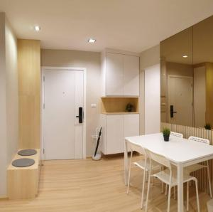 For SaleCondoChengwatana, Muangthong : Room for sale, size 45 sqm., 2 bedrooms, 1 bathroom, Plum Condo Chaengwattana, Phase 2, Building B, 8th floor, fully furnished, you can move in.