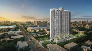 For SaleCondoThaphra, Wutthakat : Condo for sale, 4th floor, common floor