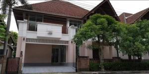 For RentHouseLadkrabang, Suwannaphum Airport : Code C4288, 2-storey house for rent, Waikiki Shore Village, Lat Krabang, Rural Development Road 4