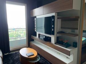 For RentCondoRama9, Petchburi, RCA : Condo for rent Circle BA21_07_086_02. Complete electrical appliances, price 15,999 baht