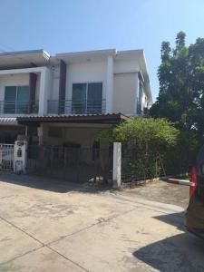 For SaleTownhouseRama5, Ratchapruek, Bangkruai : 2 storey townhouse for sale, Pruksa Town Next Tiwanon-Rama 5 Village at a special price.