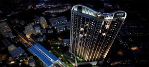 For SaleCondoOnnut, Udomsuk : Urgent sale, loss sale, 35 sq,m, high floor, beautiful layout, Rhythm Sukhumvit 44/1 @BTS Phra Khanong.