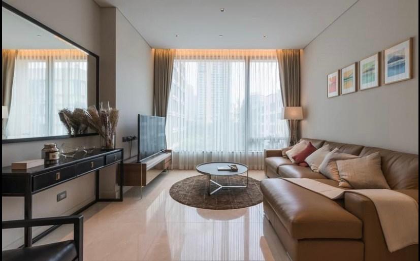 For RentCondoWitthayu, Chidlom, Langsuan, Ploenchit : +++Urgent rent+++ Sindhorn Residence** 1 bedroom, size 75.81 sq.m.
