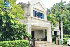 For RentHouseRattanathibet, Sanambinna : For rent Single House Nitchada Thanee Village Near ISB International School