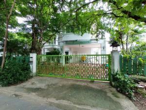For RentHouseRama5, Ratchapruek, Bangkruai : 2 storey detached house for rent, Ban Suan atmosphere, Thananon University, Ratchaphruek