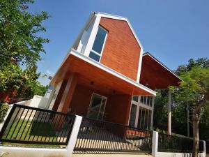 For SaleHouseChiang Mai : 2 storey detached house for sale, modern loft style, Hang Dong District, Chiang Mai Province.