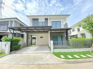 For SaleHouseBangna, Lasalle, Bearing : Quick sale, Centro Bangna Km. 7, 2 storey detached house in Soi Ratchawinit Bang Kaew.