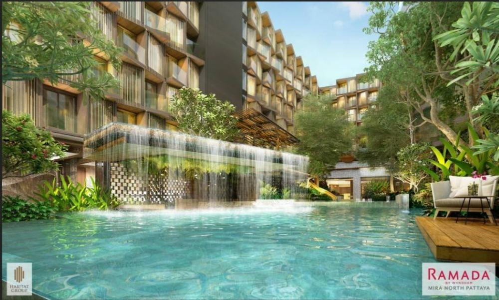 ขายคอนโดพัทยา บางแสน ชลบุรี ศรีราชา : RAMADA MIRA NORTH PATTAYA  รามาด้า มิรา นอร์ท พัทยา (หาดวงศ์อำมาตย์ พัทยาเหนือ) Luxury Condominium เพื่อการลงทุนแห่งแรกในพัทยาเหนือ ผลตอบแทนการลงทุนสูง การันตีค่าเช่า 6% นาน 5 ปี*