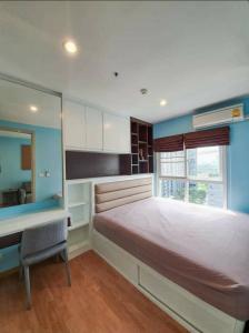 For RentCondoBang Sue, Wong Sawang : Condo for rent, The Parkland Wong Sawang, 2 bedrooms, 1 bathroom, 44 sqm., 12A floor, beautiful decoration, pool view, Fully Furnished