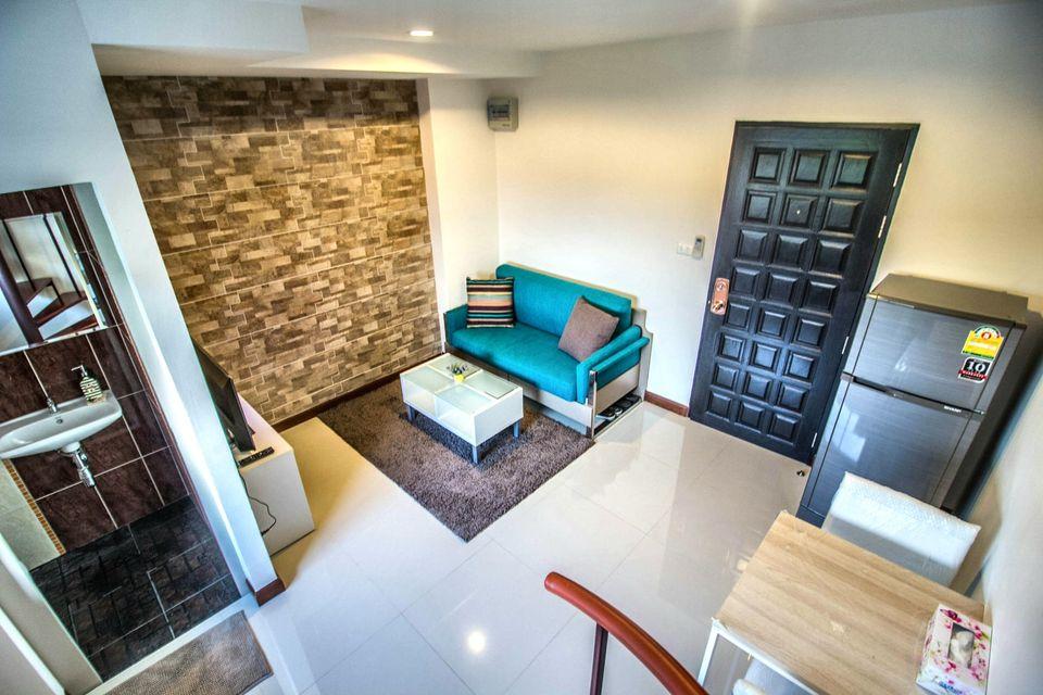 For RentCondoRattanathibet, Sanambinna : Condo for rent, Country Ville Resort, Khae Rai, Duplex room