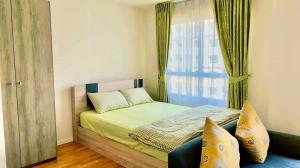 For RentCondoRattanathibet, Sanambinna : ✅ For rent, Lumpini Ville, Phra Nang Klao - River View, near MRT, size 22.50 sq.m., with furniture and electrical appliances ✅
