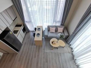 For RentCondoSapankwai,Jatujak : For Rent The Reserve Phahon-Pradipat Loft / corner room with 2 sides view
