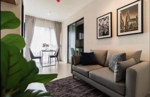 For RentCondoRama9, RCA, Petchaburi : Rhythm Asoke for rent, 1 room, very beautiful, ready to move in